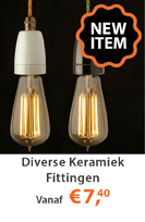 Diverse keramiek fittingen