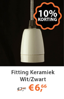Fittingen Keramiek Wit
