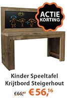 kinder speeltafel steigerhout
