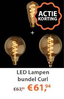 LED Lampen bundel Curl