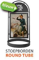 Nieuw: Round Tube Stoepborden
