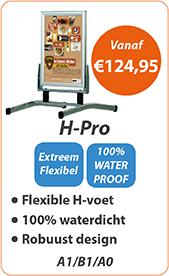 Stoepborden H-Pro